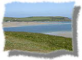 photo over the camel estuary